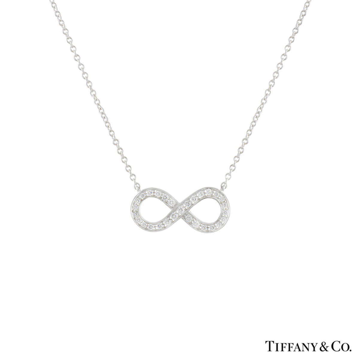 windsor eternity fine necklace platinum ruth a gregg diamond